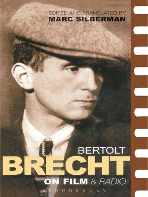 cover image of Brecht On Film & Radio