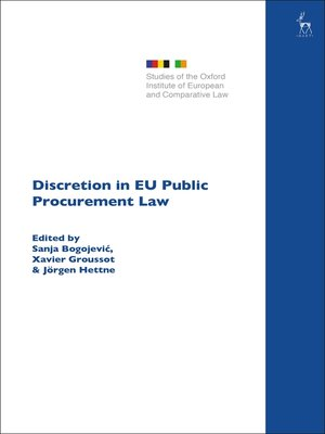 cover image of Discretion in EU Public Procurement Law