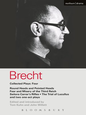 cover image of Brecht Collected Plays, 4
