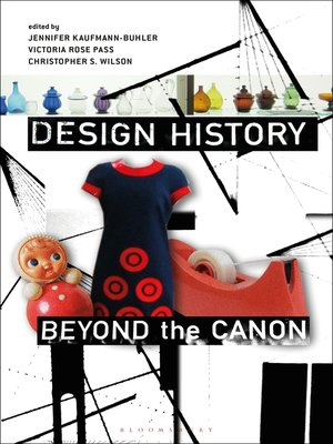 cover image of Design History Beyond the Canon