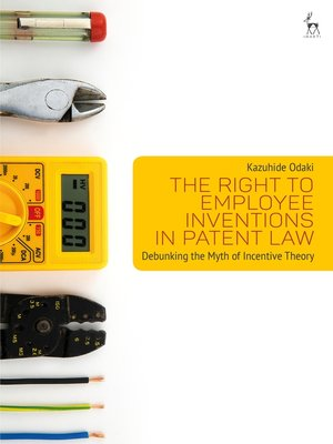 cover image of The Right to Employee Inventions in Patent Law
