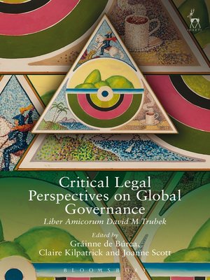 cover image of Critical Legal Perspectives on Global Governance