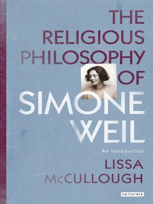 cover image of The Religious Philosophy of Simone Weil