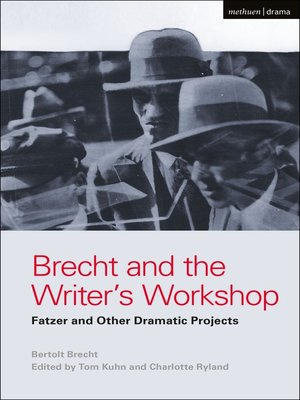 cover image of Brecht and the Writer's Workshop