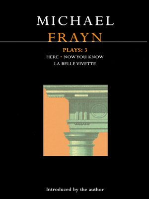 cover image of Frayn Plays, 3