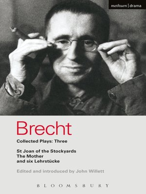 cover image of Brecht Collected Plays, 3