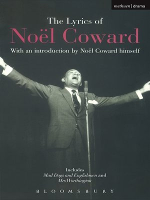 cover image of The Lyrics of Noël Coward