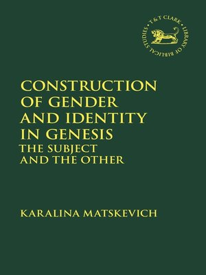 cover image of Construction of Gender and Identity in Genesis