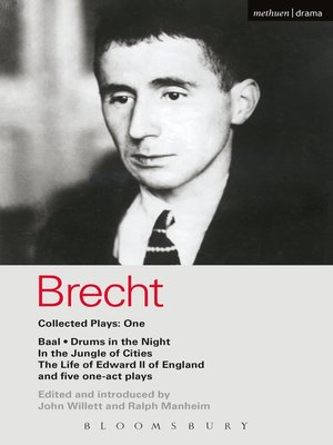 cover image of Brecht Collected Plays, 1