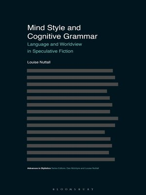 cover image of Mind Style and Cognitive Grammar