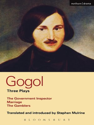 cover image of Gogol Three Plays