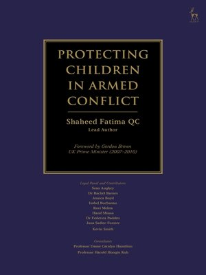 cover image of Protecting Children in Armed Conflict