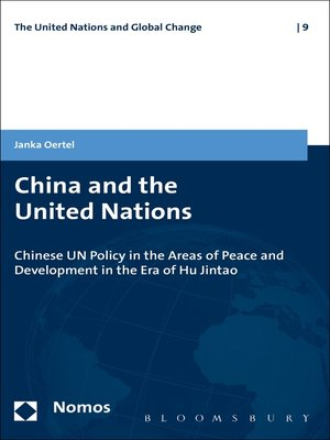 cover image of China and the United Nations