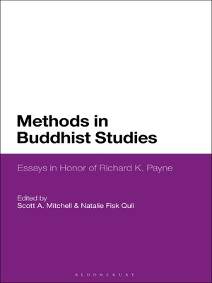 cover image of Methods in Buddhist Studies