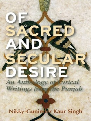 cover image of Of Sacred and Secular Desire