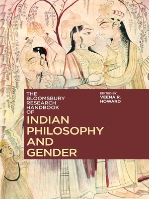 cover image of The Bloomsbury Research Handbook of Indian Philosophy and Gender