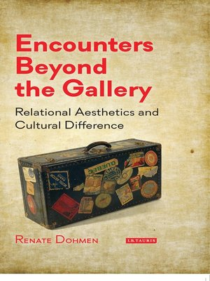 cover image of Encounters Beyond the Gallery