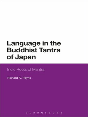 cover image of Language in the Buddhist Tantra of Japan
