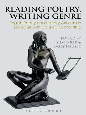 cover image of Reading Poetry, Writing Genre