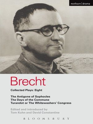 cover image of Brecht Plays 8