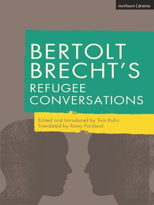 cover image of Bertolt Brecht's Refugee Conversations