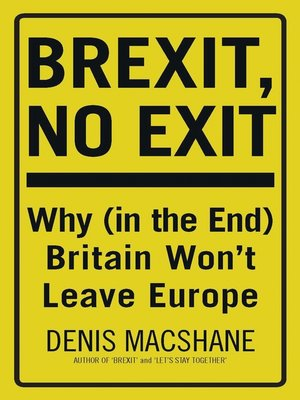 cover image of Brexit, No Exit