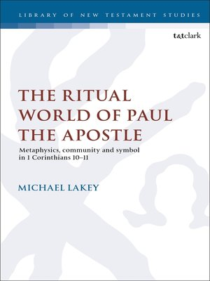 cover image of The Ritual World of Paul the Apostle