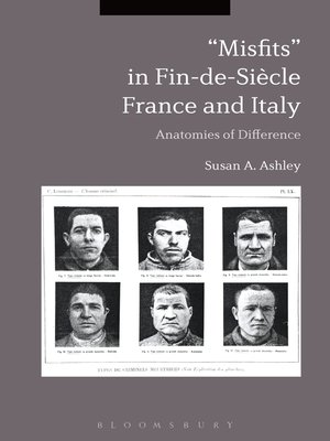 """cover image of """"Misfits"""" in Fin-de-Siècle France and Italy"""