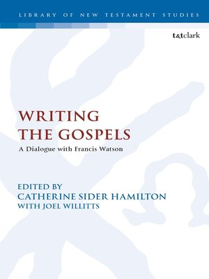 cover image of Writing the Gospels