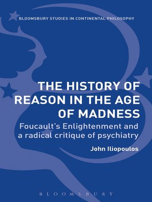 cover image of The History of Reason in the Age of Madness
