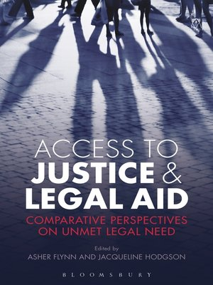 cover image of Access to Justice and Legal Aid