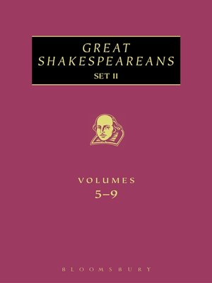 cover image of Great Shakespeareans Set II