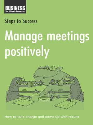 cover image of Manage Meetings Positively