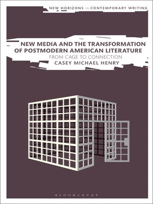 cover image of New Media and the Transformation of Postmodern American Literature