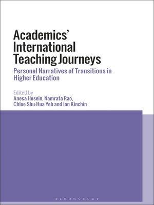 cover image of Academics' International Teaching Journeys