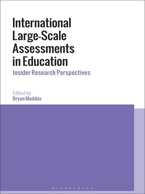 cover image of International Large-Scale Assessments in Education