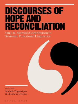 cover image of Discourses of Hope and Reconciliation
