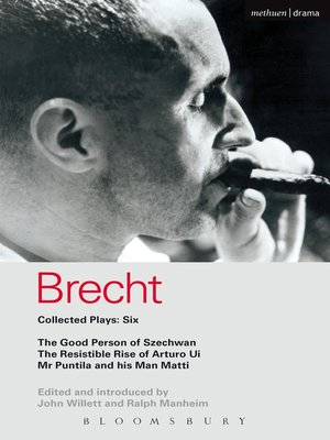cover image of Brecht Collected Plays, 6