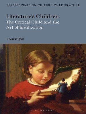 cover image of Literature's Children
