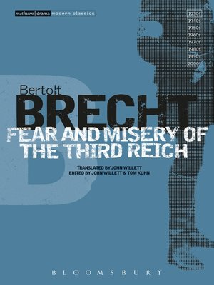 cover image of Fear and Misery of the Third Reich
