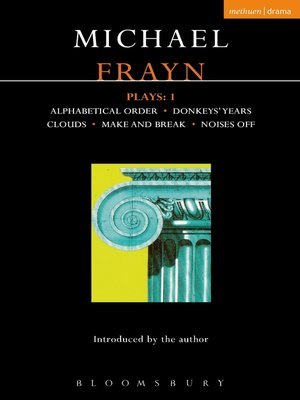 cover image of Frayn Plays, 1