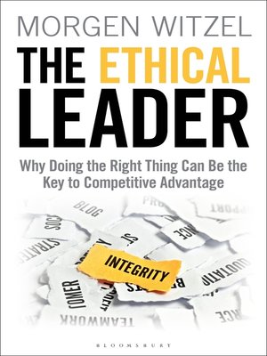 cover image of The Ethical Leader