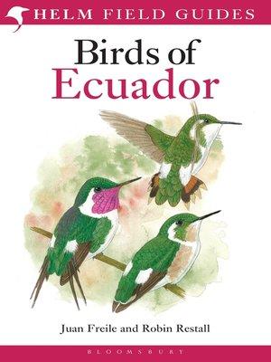 cover image of Birds of Ecuador