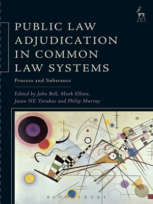cover image of Public Law Adjudication in Common Law Systems