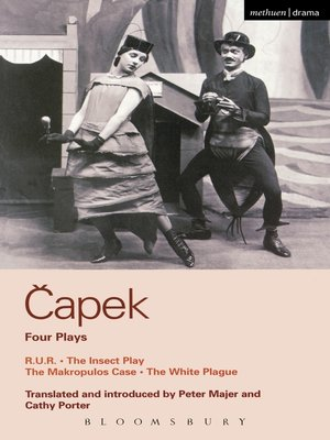 cover image of Capek Four Plays