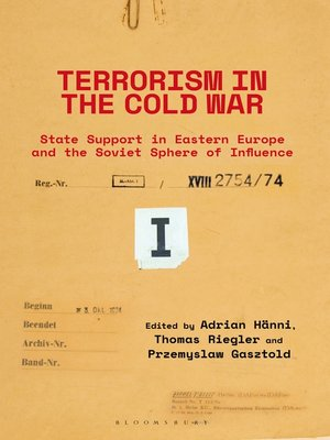 cover image of Terrorism in the Cold War