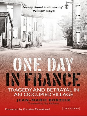 cover image of One Day in France