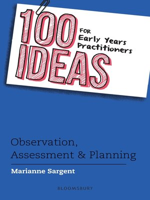 cover image of 100 Ideas for Early Years Practitioners