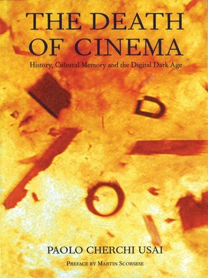 cover image of The Death of Cinema
