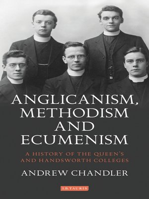 cover image of Anglicanism, Methodism and Ecumenism